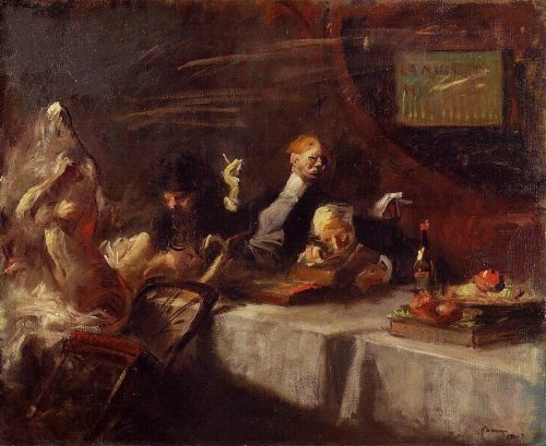 A Night at Maxim's by Jean-Louis Forain