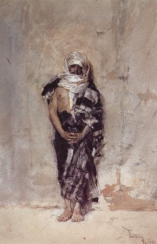 Moroccan Man by Mariano Fortuny