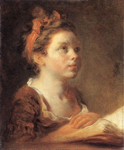 A Young Scholar, 1775-1778 by Jean-Honorè Fragonard