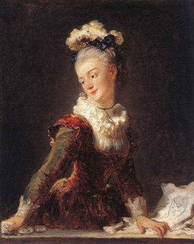 Marie-Madeleine Guimard, Dancer, 1769 by Jean-Honorè Fragonard