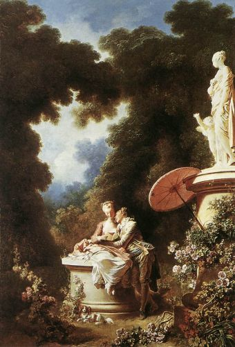 The Confession of Love, 1771 by Jean-Honorè Fragonard