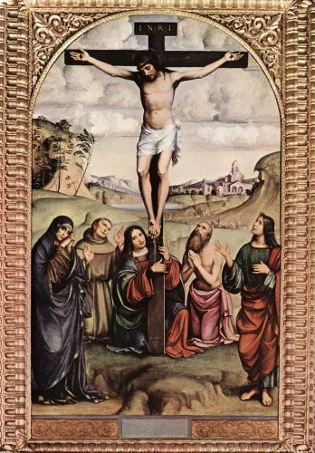 Crucifixion by Francesco Francia