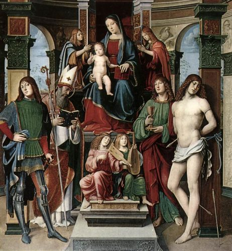 Madonna and Saints by Francesco Francia