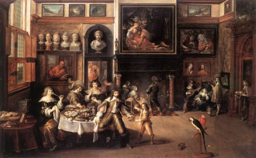 Supper at the House of Burgomaster Rockox by Frans II Francken