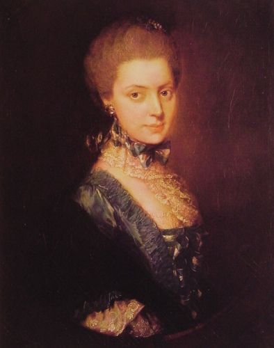 Elizabeth Wrottesley by Thomas Gainsborough