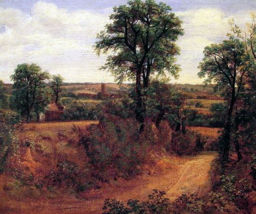 Fen Bridge Lane by Thomas Gainsborough