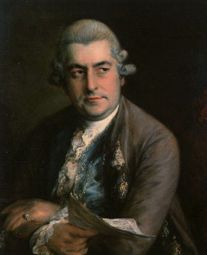 Johann Christian Bach by Thomas Gainsborough