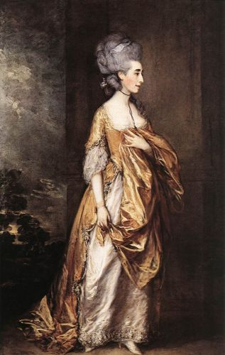 Mrs Grace Dalrymple Elliot by Thomas Gainsborough