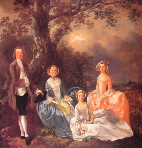 The Gravenor Family by Thomas Gainsborough
