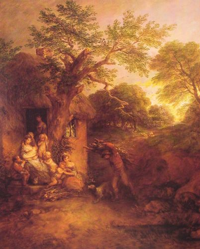 The Woodcutters' Return by Thomas Gainsborough