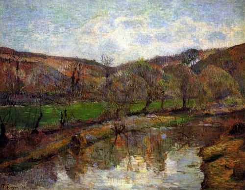 Aven Valley, Upstream of Pont-Aven, 1888 by Paul Gauguin