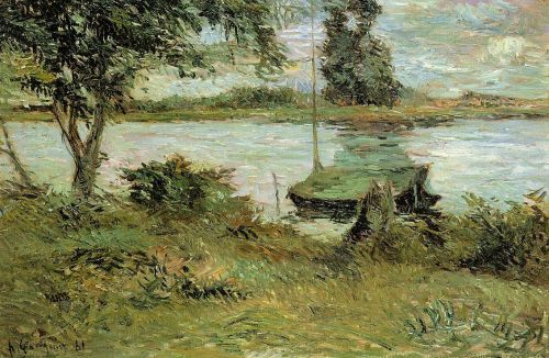 Banks of the Oise, 1881 by Paul Gauguin
