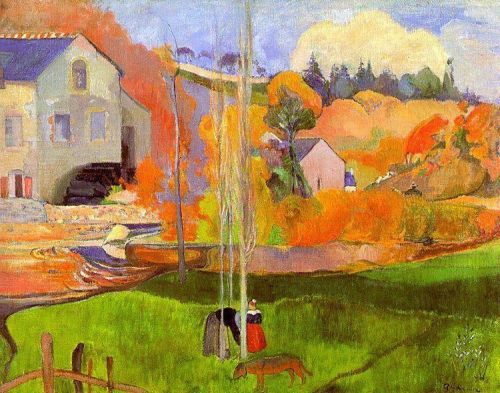 Breton Landscape, 1894 by Paul Gauguin