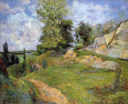 Chou Quarries at Pontoise, 1882 by Paul Gauguin