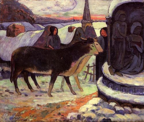Christmas Night, 1902-1903 by Paul Gauguin