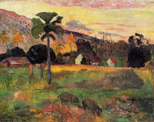 Come Here, 1891 by Paul Gauguin