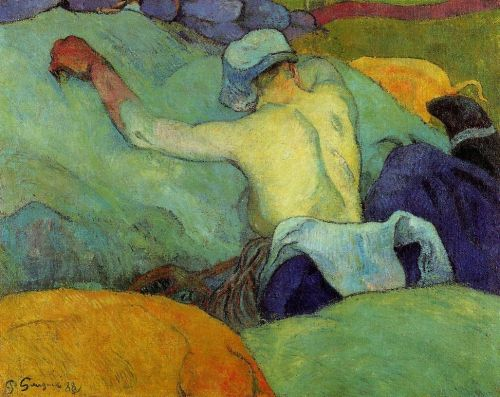In the Heat of the Day, 1888 by Paul Gauguin