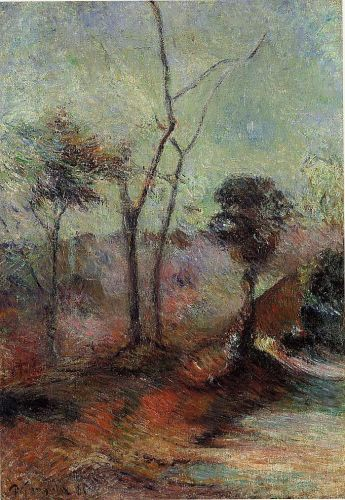 Landscape by Paul Gauguin