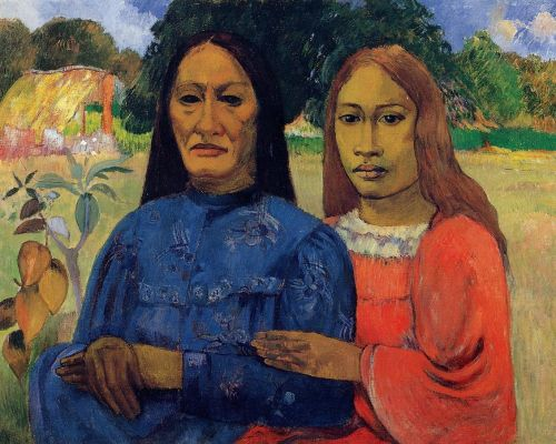 Mother and Daughter, 1891 by Paul Gauguin