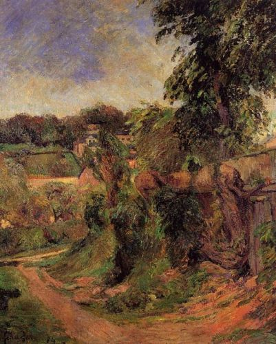 Near Rouen, 1884 by Paul Gauguin