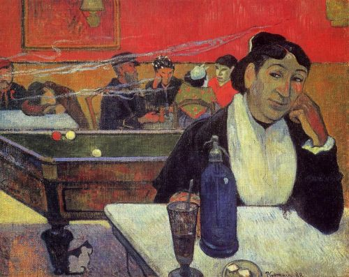 Night Cafe at Arles, 1888 by Paul Gauguin