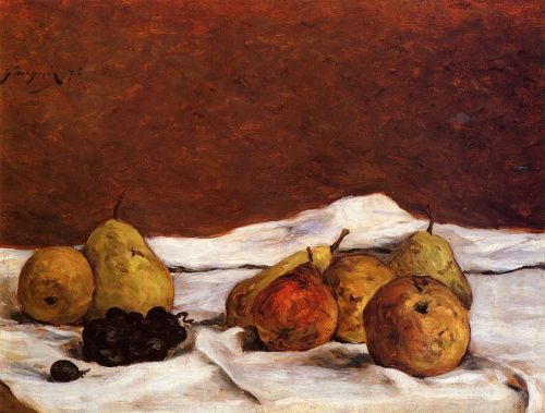 Pears and Grapes, 1875 by Paul Gauguin