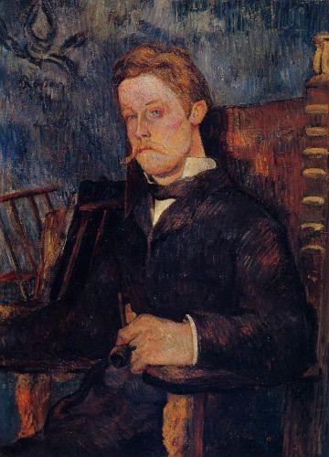 Portrait of a Seated Man, 1884 by Paul Gauguin