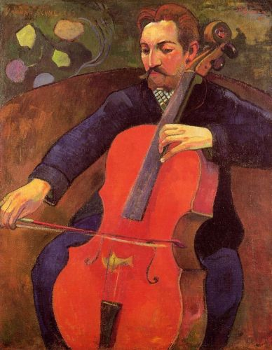 Portrait of Fritz Scheklud, 1894 by Paul Gauguin