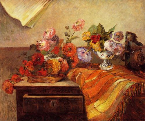 Pots and Bouquets, 1886 by Paul Gauguin