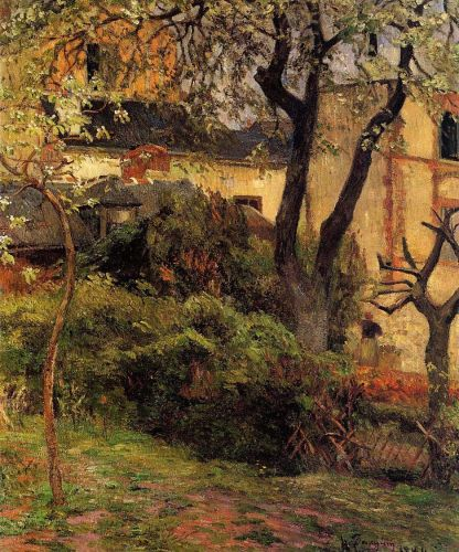 Rouen, Spring, 1884 by Paul Gauguin