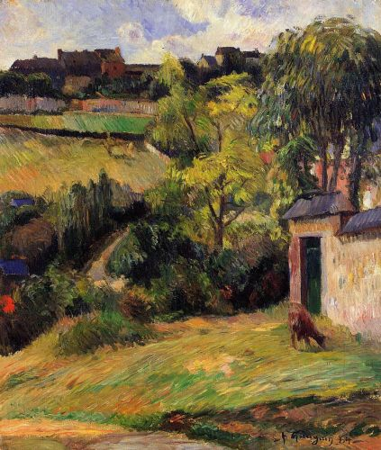 Rouen Suburb by Paul Gauguin