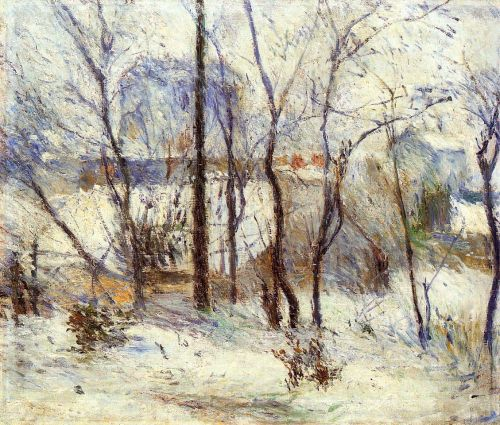 Snow at Vaugirard, 1879 by Paul Gauguin