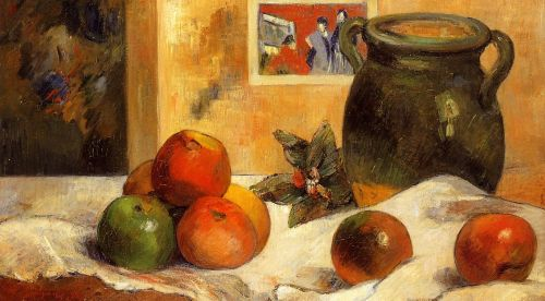 Still Life with Japanese Print, 1888 by Paul Gauguin