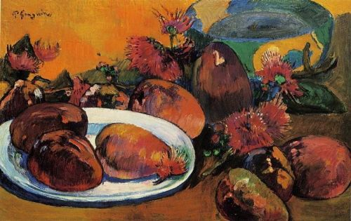Still Life with Mangoes, 1894 by Paul Gauguin