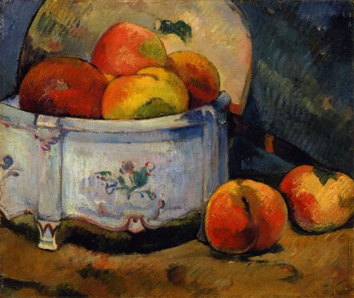 Still Life with Peaches, 1889 by Paul Gauguin