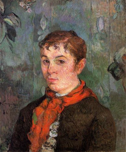The Boss's Daughter, 1886 by Paul Gauguin