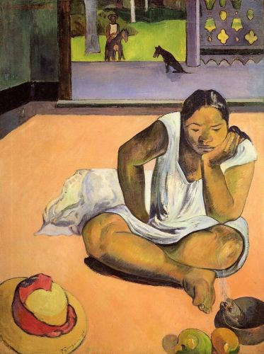 The Brooding Woman, 1891 by Paul Gauguin