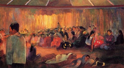 The House of Hymns, 1892 by Paul Gauguin