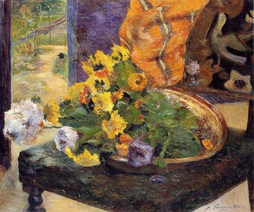 The Makings of a Bouquet, 1880 by Paul Gauguin
