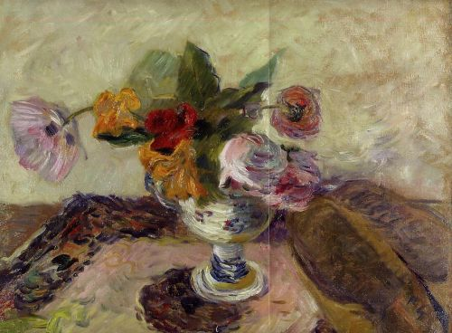 Vase of Flowers, 1886 by Paul Gauguin