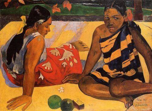 What News by Paul Gauguin