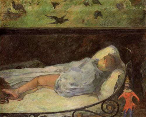 Young Girl Dreaming, 1881 by Paul Gauguin