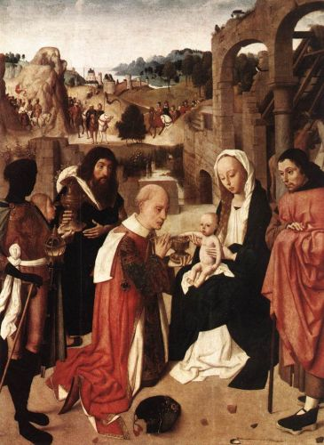 Adoration of the Kings by Sint Jans Geertgen