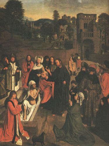 The Raising of Lazarus by Sint Jans Geertgen