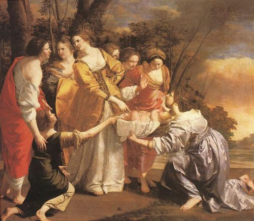 Finding of Moses by Orazio Gentileschi