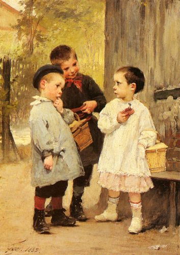 Give me a Bite by Henry Jules Jean Geoffroy