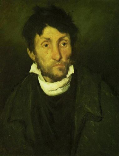 Insane by Théodore Géricault