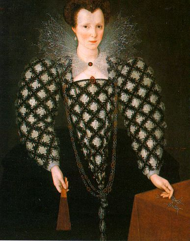 Portrait of Mary Rogers by Marcus il Giovane Gheeraerts