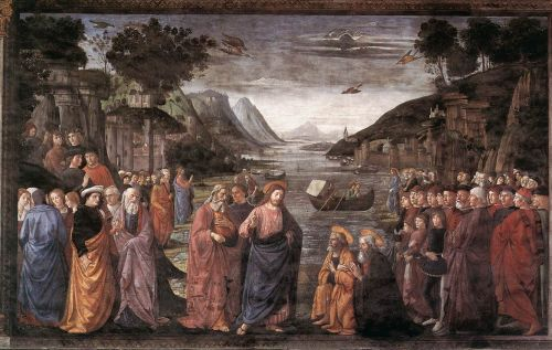 Calling of the First Apostles by Domenico Ghirlandaio