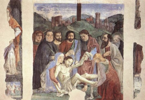 Lamentation over the Dead Christ by Domenico Ghirlandaio